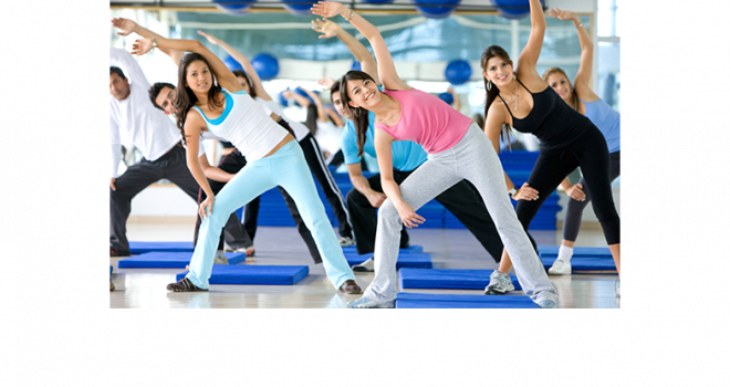 Group Exercise class at the Y